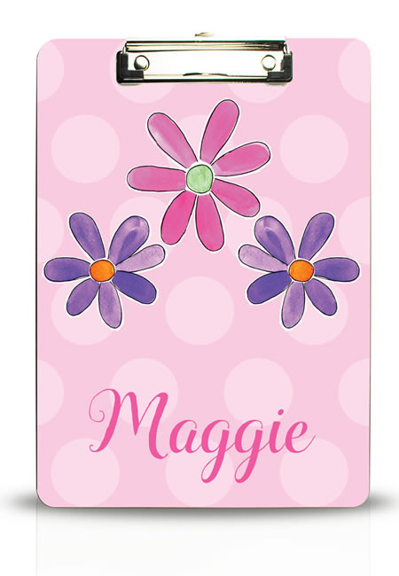 Personalized clipboards for boys and girls
