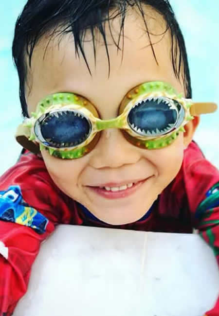 Children's swim goggles at folia in south dartmouth ma