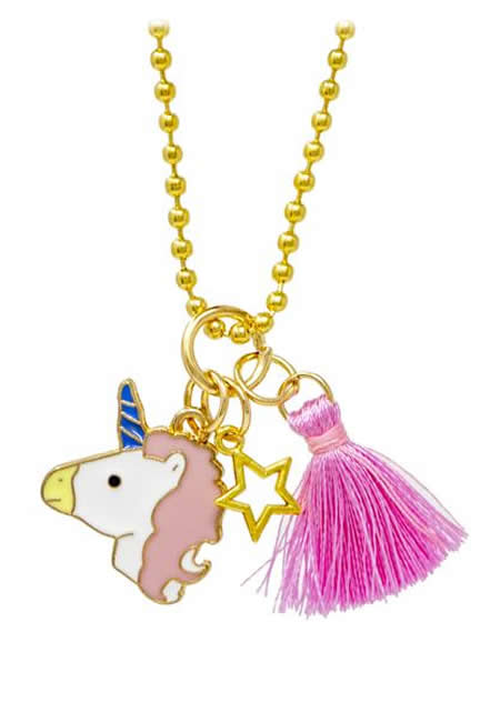 Unicorn charm necklaces at folia in south dartmouth ma