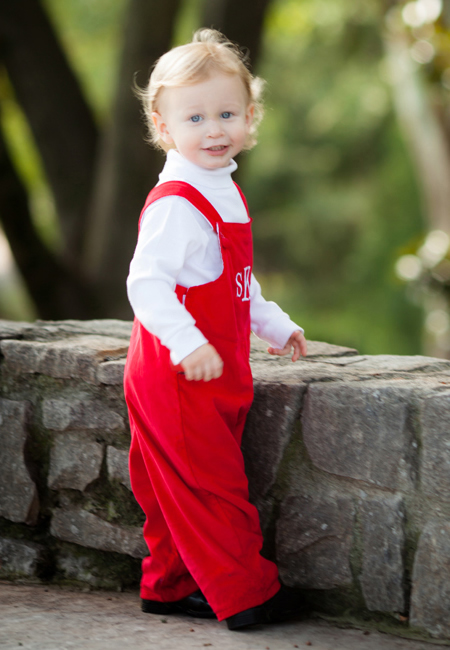 Personalized clothing for babies and boys